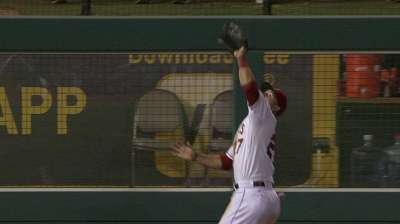 Trout and Co. put Angels' defense on display