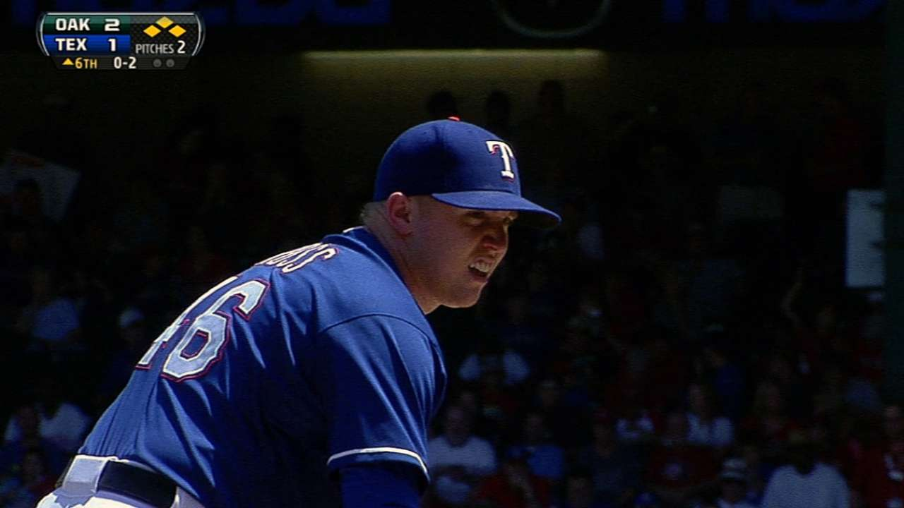 Ross ready to embrace role in Rangers' rotation