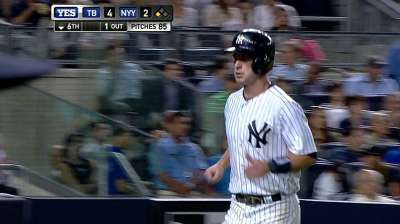 Yanks' offensive struggles continue in loss to Rays