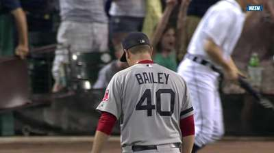 Bailey removed from closer's role in favor of Uehara