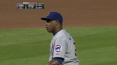 Marmol rebounds with solid outing Thursday