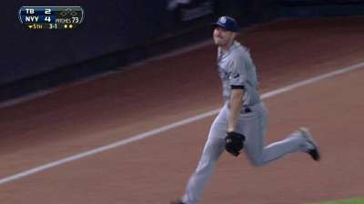 Hernandez, Rays lose game of small ball