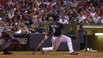 Segura in third as All-Star vote enters home stretch