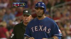 Clutch Cruz lifts rallying Rangers to win in ninth