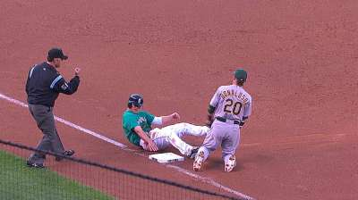 Jaso a last-minute scratch from A's lineup