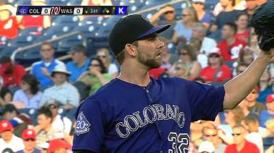 Rox drop fifth straight despite Chatwood's gem