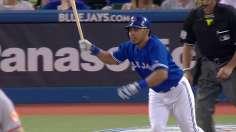 Bautista's homer pushes Blue Jays' win streak to 10