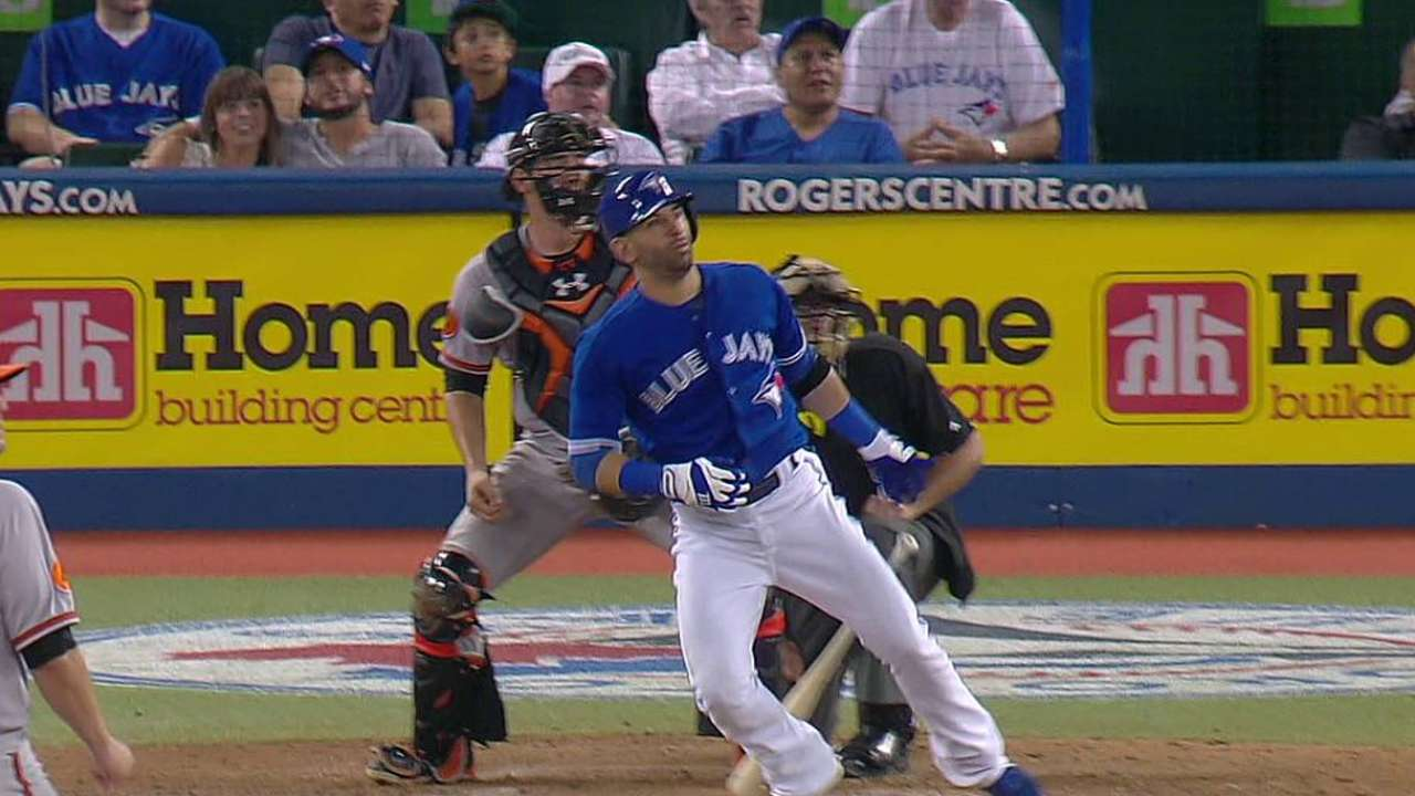Bautista's two-run shot