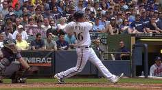 Hand it to Brewers: Huge start leads way over Braves