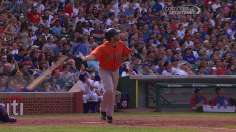 Astros squeeze comeback win away from Cubs