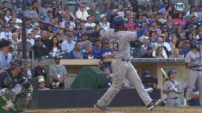 Hanley's hot bat bolstering Dodgers' lineup