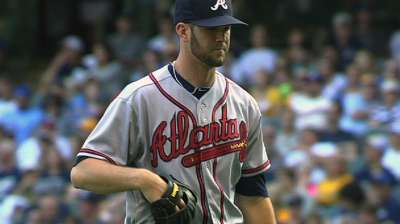 No guarantees for Wood in Braves' rotation