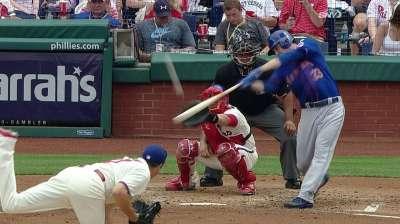 Wright, Harvey clave blanqueada de Mets sobre Filis