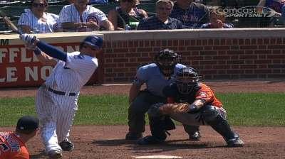 Ataque de Cubs se hizo sentir sentir ante Astros