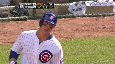 Rizzo reflects on anniversary of Cubs promotion