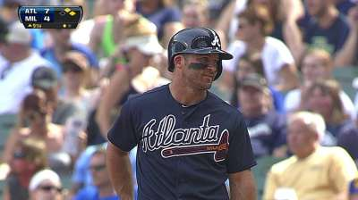 Uggla adjusting to wearing contact lenses