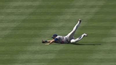 Ethier to play left in new outfield configuration