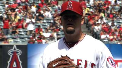 Frieri blows rare save, Angels fall in extras