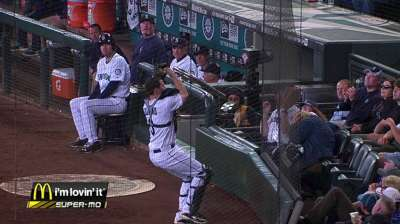 Zunino providing stability behind the plate