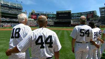 Legends come out to play on 67th Old-Timers Day