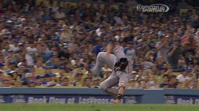 Little goes right for Giants in loss to Dodgers