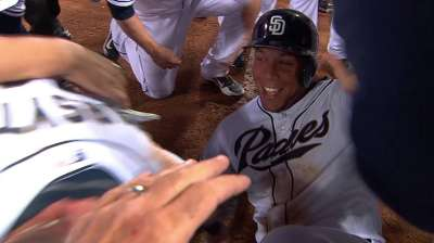Thanks to Blanks, Padres win after improbable rally