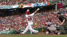 LaRoche homers in five-run frame to lead Nats