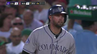 Cuddyer extends hitting streak to 22 games