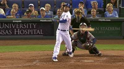 Royals trip in Braves' first visit to Kauffman
