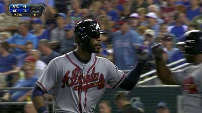 J-Hey powers Braves to first victory at The K