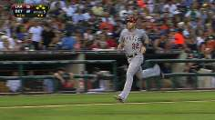 Halos soar past Tigers with eight-run fifth