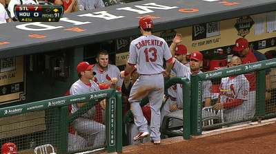 Cardinals erupt with seven-run fourth, pound Astros