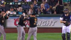 Locke, five homers key Bucs' fifth straight win