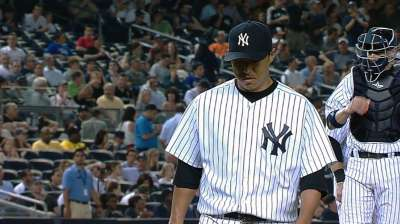 Hip feeling better, Kuroda cleared to resume throwing