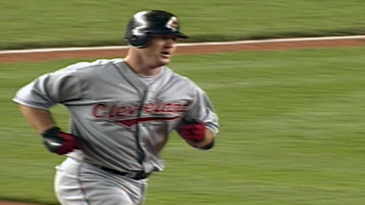 Thome homers in seven straight