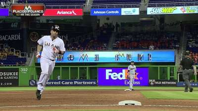 Pair of clutch homers power Marlins to series win