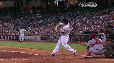 Astros doblegaron por la mínima a Cardenales