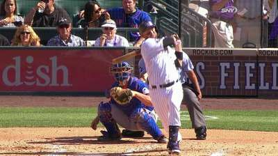 Cuddyer extends hitting streak to Rox record 24 games