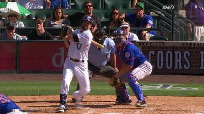 After early runs, Rockies bats go quiet in loss to Mets