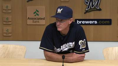 Roenicke insists Brewers haven't quit