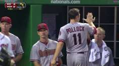 D-backs manufacture win over Nats in 11