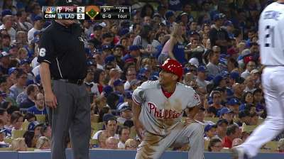 For Phillies, little things cost a lot in loss to Dodgers