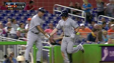 Forsythe a valuable sub for depleted Padres