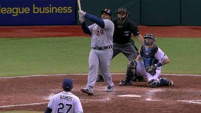 Tigers reflect on Prince's 'gigantic' home run