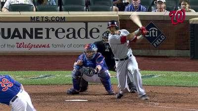 Nacionales atacan bullpen de los Mets y ganan