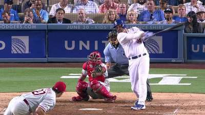 Dodgers' win streak comes to historic end