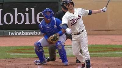 Twins shake up lineup to rest sore players