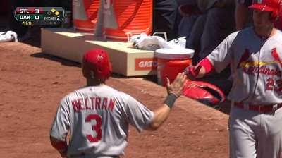 Holliday returns from pinched nerve in neck