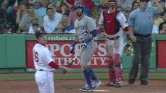 Bautista does it all to lift Blue Jays at Fenway