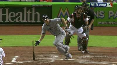 Stults exits early as counterpart goes distance